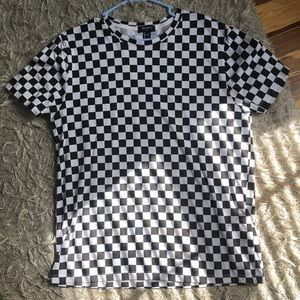 Checkered T Shirt